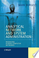 Analytical Network and System Administration