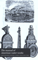 Manual of American Water works