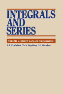 Integrals and Series: Direct Laplace transforms