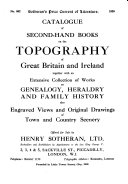 Sotheran's Price Current of Literature