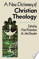 A New Dictionary Of Christian Theology Book PDF