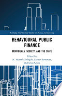 Behavioural Public Finance