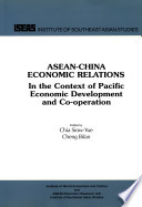 ASEAN China Economic Relations in the Context of Pacific Economic Development and Co operation