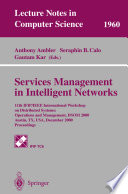 Services Management in Intelligent Networks