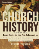 Cover of Church History - From Christ to Pre-Reformation
