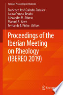 Proceedings of the Iberian Meeting on Rheology  IBEREO 2019