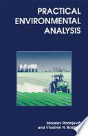 Practical Environmental Analysis