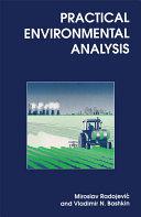 Pdf Practical Environmental Analysis Telecharger