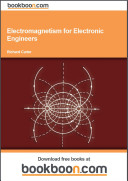 Electromagnetism for Electronic Engineers