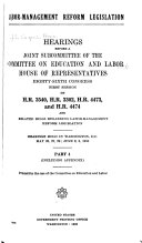 Labor-management Reform Legislation