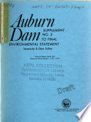 Auburn Dam, Seismicity and Safety