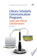 Library Scholarly Communication Programs Book