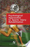 Psychological Approaches to Sports Injury Rehabilitation Book