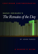 Kazuo Ishiguro's The Remains of the Day
