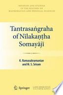 Tantrasaṅgraha of Nīlakaṇṭha Somayājī