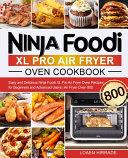 Ninja Foodi XL Pro Air Fryer Oven Cookbook