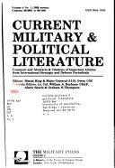Current Military   Political Literature