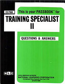 Training Specialist II