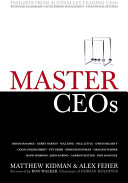 Cover of Master CEOs