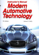 Modern Automotive Technology Instructor's Resources