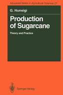 Production of Sugarcane Book