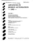 Advances in Design Automation  1993