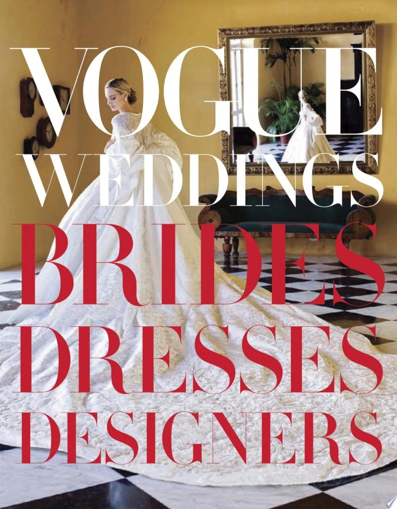 Vogue Weddings banner backdrop