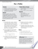Operations and Algebraic Thinking Leveled Problems: Write Equations