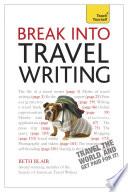 Break Into Travel Writing Teach Yourself Ebook Epub