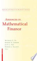 Advances In Mathematical Finance