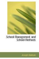 School Management and School Methods Book