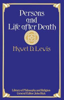 Persons And Life After Death