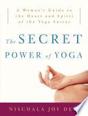 The Secret Power of Yoga Book