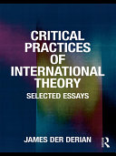 Pdf Critical Practices in International Theory Telecharger