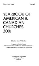 Yearbook of American and Canadian Churches, 2001