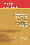 Chambers S Journal Of Popular Literature Science And Art