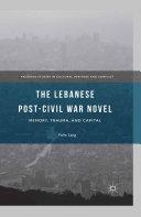 The Lebanese Post-Civil War Novel [Pdf/ePub] eBook