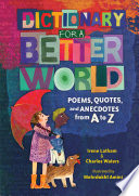 Dictionary for a Better World Book