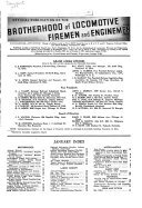 Brotherhood of Locomotive Firemen and Enginemen s Magazine Book