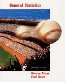 General Statistics Book