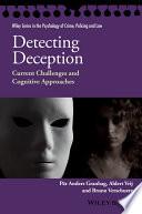 Detecting Deception Book