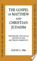 The Gospel Of Matthew And Christian Judaism