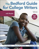 The Bedford Guide for College Writers with Reader  2020 APA Update