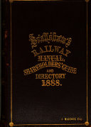 Bradshaw's Railway Manual, Shareholders' Guide and Official Directory