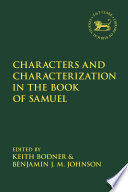 Characters and Characterization in the Book of Samuel