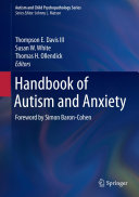 Handbook of Autism and Anxiety Pdf/ePub eBook