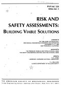 Risk and Safety Assessments