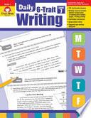 Daily 6-Trait Writing, Grade 7