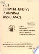 701 Comprehensive Planning Assistance