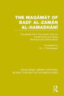The Maqámát of Badí' al-Zamán al-Hamadhání Pdf/ePub eBook